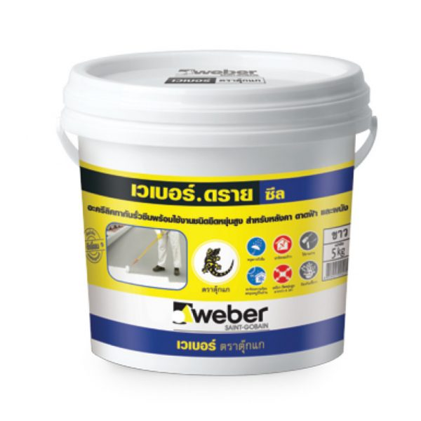 Keo dán gạch chống thấm Weber Dry Seal